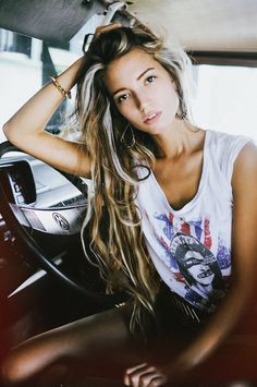Messy Hairstyles, Summer Hairstyles, Pretty Hairstyles, Style Hairstyle, Hairstyle Ideas, Beautiful Long Hair, Gorgeous Hair, Beautiful People, Gorgeous Blonde