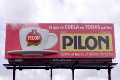 Cafe Pilon Miami billboard Pushing Boundaries, National Coffee Day, Billboard, Espresso, Miami, Espresso Coffee, Poster Wall, Espresso Drinks