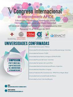 Simposium emprendimiento en la Universidad   AFIDE