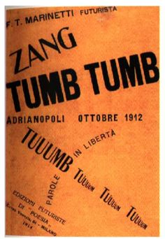 marinetti: zang tumb tumb 1914