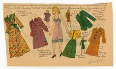 77.6191: Melissa | paper doll | Paper Dolls | Dolls | Online Collections | The Strong