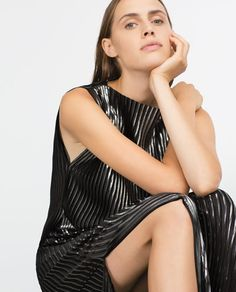 Image 6 of PLEATED TOP from Zara