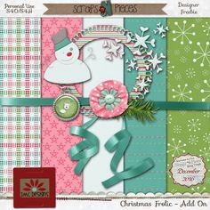 FREE JMC Designs - Digital Scrapbooking Kits: December Blog Train