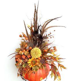 #Autumn #pumpkin #Fall #arrangement