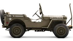 Jeep #Willys MB with wirecutters/anti-decapitation device up front. Great article in Gear Patrol.