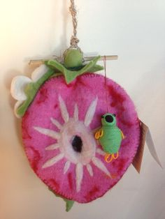 This bird from Colombia found a wonderful nesting home from Nepal. They both met in our #fairtrade store..lol