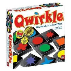 nice Qwirkle Board Game - For Sale