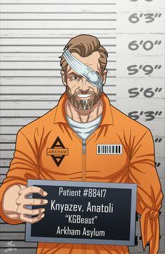 Anatoli Knyazev locked up (Earth-27) commission by phil-cho