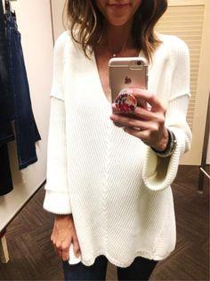 Ivory Sweater.