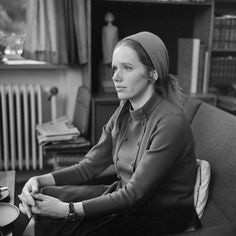 Portrait of Liv Ullmann by Rigmor Dahl Delphin, 1966