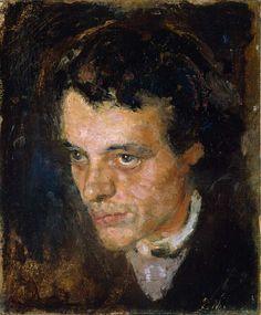 Edvard Munch - 'Jørgen Sørensen' - (1885) Oil on canvas, 36 x 31 cm