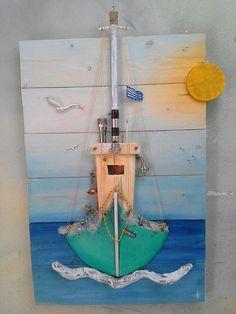 New ideas beach wood crafts diy pallet art Diy Wall Art, Wood Wall Art, Diy Art, Beach Wood, Pallet Art, Diy Pallet, Pallet Wood, Diy Wood, Driftwood Crafts