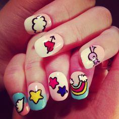 Colorful Unicorn Nails