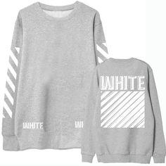 """EXO Chanyeol """"White"""" Sweatshirt"""
