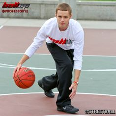 """Exclusive Interview on Streetball of Streetball Legend """"The Professor"""" from the Ball Up Streetball team."""