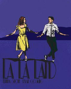 Desde las imágenes más icónicas. | 26 Hermosas ilustraciones que sólo apreciarás si amaste 'La La Land'