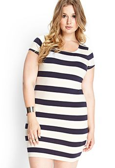 Shore Thing Bodycon Dress | FOREVER21 PLUS - 2000087981