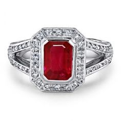 Ruby Wedding Rings
