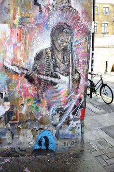 Don - street art - hanbury street, Londres