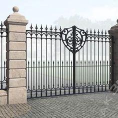 3d project. Gate. Iron fence. . . . #gate #metalgate #porton #portones #portoneselectricos #portonesautomaticos #wroughtirongate #wroughtironfence #wroughtirongates #wroughtironwork #wroughtirondesign #arquitectura3d #architecture3d #castironfence #reja #rejas #metalgates #diseñourbano #proyectistas #proyectista #3darquitectura #spbdesign #piterdesign #visualizacion3d #modelado3d #renderizado #diseno #3ddiseño #diseño3d Front Gates, Entry Gates, Gate For Home, Grill Gate Design, Compound Wall Design, Architecture 3d, Wall Railing, Gate Post, Driveway Entrance