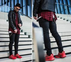 Flannel with zipped back - Kosta Williams