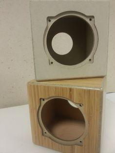"""Wie klingt Umweltschutz? Speaker mit """"runden Ecken"""" aus schadstofffreier rückgewonnener Zelluloseverbundfaser C2C - ECOR"""