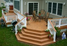 It is great to build a deck for your mobile house especially if the area is surrounded by beautiful scenery. Description from mobilehomeideas.com. I searched for this on bing.com/images