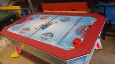 Jakar Ice Hockey léghoki asztal Ice Hockey, Pinball, Poker Table, Home Decor, Decoration Home, Room Decor, Home Interior Design, Hockey Puck, Home Decoration