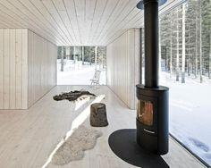 Four-cornered Villa von Studio Avanto Architects Familienhaus in Finnland Minimalistisches Design Foto © Kuvio Architectura