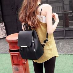 Structured Backpack (9 Colors)