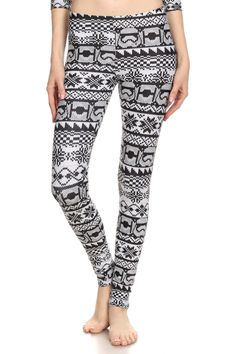 New Star Wars themed Trooper Fair Isle leggings by Poprageous