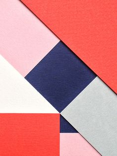 Simple, Elegant Typeface Made Entirely Out Of Overlapping Paper