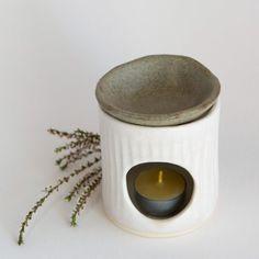 Ceramic Oil Diffuser, Home Decor Australia, Australian Organic, Ceramic Oil Burner, Wax Burner, Relaxation Gifts, Ceramic Coffee Cups, Oil Burners, Porcelain Clay