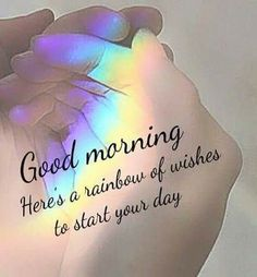 Auch wenn nicht jeder Morgen mit Sonnenschein und Vogelgezwitscher startet, wird er trotzdem gut, wenn man nur viel lacht.