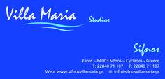 Studios Villa Maria