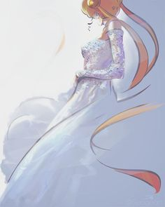 Sailor Moon in Valentino, an art print by Courtney James Howlett Sailor Moon Crystal, Sailor Moon Stars, Sailor Moon Fan Art, Sailor Moon Manga, Sailor Venus, Neo Queen Serenity, Princess Serenity, Me Anime, Anime Art