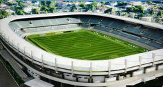 Estádio Colosso do Tapajós - Santarém (PA) - Projeto de reforma e ampliação para 20 mil  pessoas