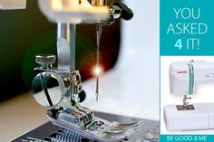 Caring for sewing machines