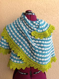 pop splots - knit by grannyknits4u, pattern by juju vail - maybe a little different color choices