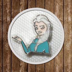 1 Elsa Floating Charm memory locket  9.8mmx9.8mm by GCFindings