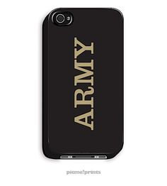 Go Army! Our personalized iPhone cases are compatible with the iPhone 4 and 4S.