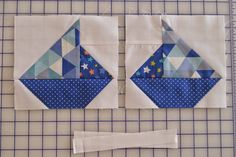 Crooked Tail Crafts: Sailboat Block Tutorial
