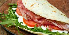 Come preparare la classica piadina romagnola