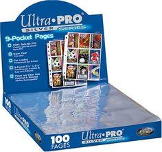 Ultra Pro Silver Series 100/9 Pocket Page Protectors Ultra Pro $17.50 http://www.amazon.com/dp/B0007XXFGG/ref=cm_sw_r_pi_dp_hGa9tb00EW4TH