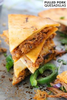 Quick Easy Meals, Easy Dinner Recipes, Dinner Ideas, Dinner Menu, Easy Dinners, Easy Recipes, Pulled Pork Quesadilla, Mexican Side Dishes, Main Dishes