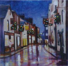 Market Street Kirkby Lonsdale by William H Jones