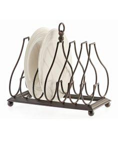 Tabletop Plate Rack