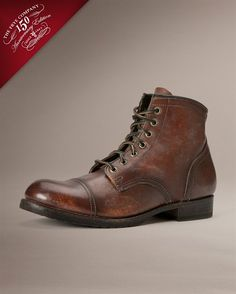 Cap toe boots - 5 Men's Style Staples to Help You Transition from Summer to Fall – Cap toe boots Me Too Shoes, Men's Shoes, Shoe Boots, Dress Shoes, Men Boots, Nike Shoes, Nike Outfits, The Frye Company, Back In The Game