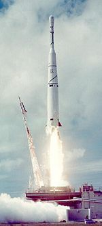 The first Thor-Able rocket is launched, carrying Pioneer 0, from Cape Canaveral Air Force Station Launch Complex 17. (1958)