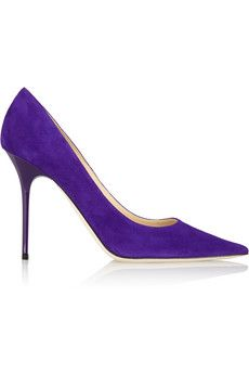 Jimmy Choo Abel suede pumps | NET-A-PORTER